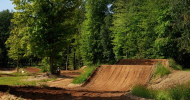 The 100 ft triple at Martin MX Park